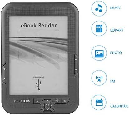 Lector Libros Electrónicos, 6 Pulgadas 4GB Resolución 800 x 600 ...
