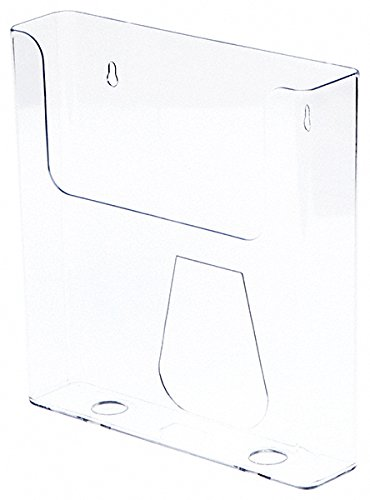 Plymor Brand Clear Acrylic 8.5 x 11 Paper / Catalog Holder, 9
