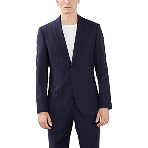 Esprit Collection 993Eo2G902 Chaqueta de traje para hombre Azul dark navy 420 44 XS