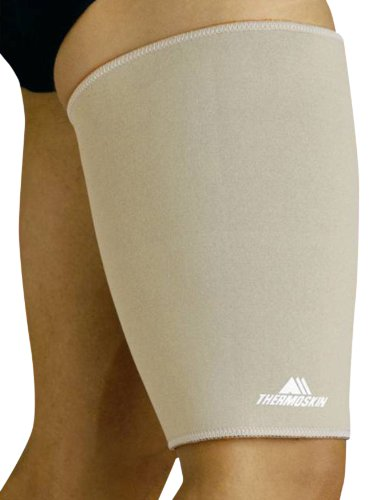 Thermoskin Thigh and Hamstring Support, Beige, XX-Large