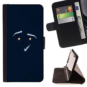 Momo Phone Case / Flip Funda de Cuero Case Cover - CARA GRACIOSA - Sony Xperia M5