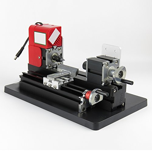 Zinnor Zinnor Mini Lathe Machine saw Mini Combined Machine Tool for DIY, hobby, model making, crafts, students, small parts processing 20000rpm/min