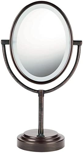 Conair Be47Br Double-Sided Lighted Mirror Oiled Bronze