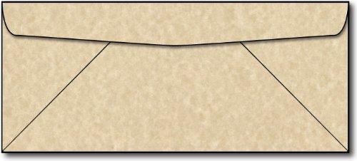 Brown Parchment Envelopes - 100 Envelopes