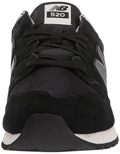 Nieuw Evenwicht Heren 520v1 Sneaker Zwart / Donkergrijs