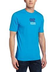 (新低)Outdoor Research 男士户外快干T恤 蓝 $13.68 Men's Fresno T-Shirt