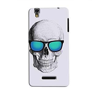 Cover it up - Cool Skull YU Yureka Hard Case