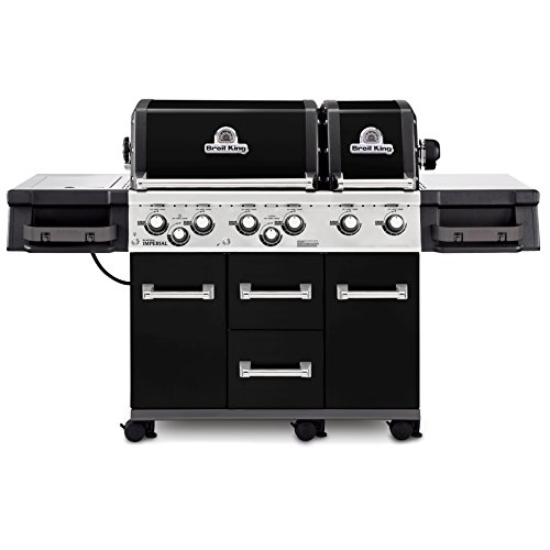 Broil King Imperial XL Black - Black - 6 Burner - Propane Gas Grill