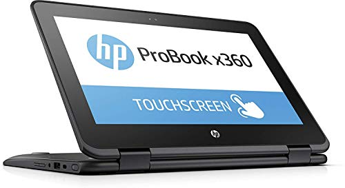 2019 HP ProBook x360 11-G1 EE 11.6-inch 2-in-1 Convertible HD Touch-Screen Laptop PC with Active Pen, Intel N3450 Quad-Core Processor, 4GB DDR3, 64GB eMMC, 802.11ac, Bluetooth, Win10s