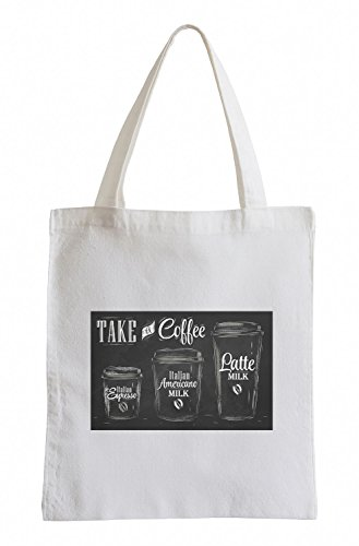 Raxxpurl prendere un caffè Fun sacchetto di iuta