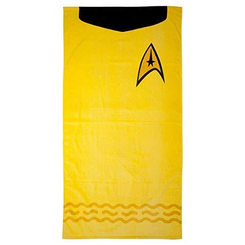 Star Trek Beach Towel (Kirk (Gold))
