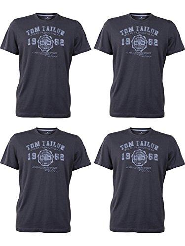 shirt 4x Tom Herren 4 avec TailorT gris logo tarmac2983 RundhalsBasique pièces ZOTXiPku