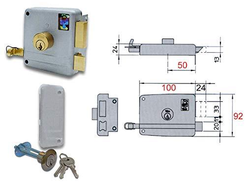 viro cerradura Appl. Cilindro SE e.60 DX Art. 7503: Amazon.es: Bricolaje y herramientas