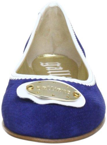Galliano 840524 Damen Ballerinas Blau (blau/weiß 5)