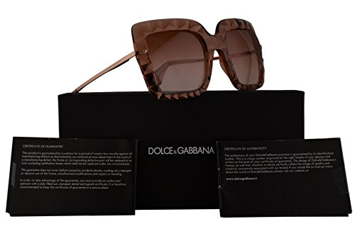 Dolce & Gabbana DG6111 Sunglasses Crystal Pink w/Pink Gradient Lens 51mm 314813 DG - Gabbana Glasses Dolce Pink And