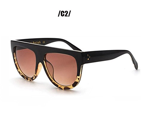 Women Flat Top Mirror Sunglasses Cat Eye - Burch Flats Australia Tory