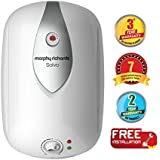 Morphy Richards Salvo 25-Litre Vertical Storage Water Heater (White)