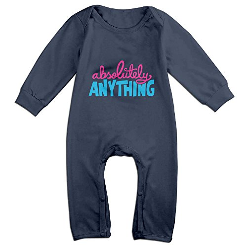 Cute Absolutely Anything Movie Romper For Toddler Navy Size 18 (Rent A Santa Suit)