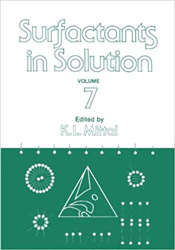 Surfactants in Solution: Volume 7: Proceedings of the 6th International Symposium v. 7