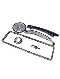 02 08 Mini Cooper (1.6) 1.6L SOHC Motor Timing Kit de cadena con engranajes compatible con: w10b w11b R50 R52 R53 S convertible