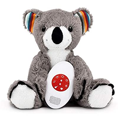 Plush Animal Toy, Music Soother, White Noise and Heartbeat Musical Melodies, Coco The Bear by ZazuKids: Baby