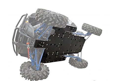 SuperATV Polaris RZR XP 1000 / Turbo Heavy Duty ARMW Full Skid Plate - (2016+)