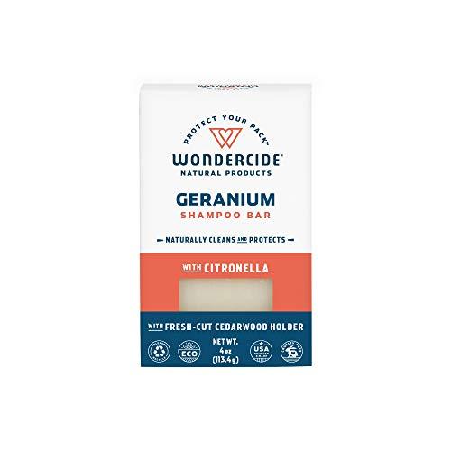 Wondercide Natural Flea & Tick Shampoo Bar for Dogs & Cats to Kill & Repel Fleas 4oz Bar ()
