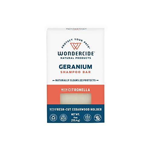 Wondercide Natural Flea & Tick Shampoo Bar for Dogs & Cats to Kill & Repel Fleas 4oz ()