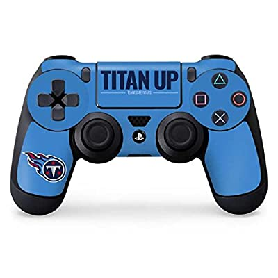 Tennessee Titans PS4 Controller Skin - Tennessee Titans Team Motto   NFL X Skinit Skin