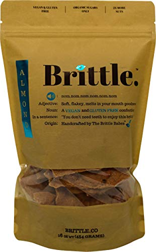(Handcrafted Almond Brittle (16 ounces))