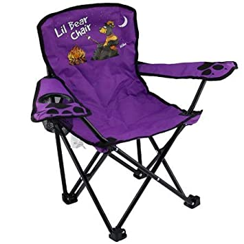 Fine Kids Folding Camp Chair Ages 2 6 Camping Bear Color Varies Pabps2019 Chair Design Images Pabps2019Com