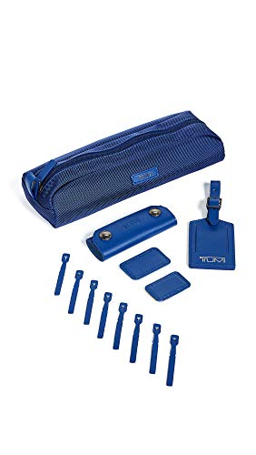 Tumi Men's Tumi Accents Kit, Atlantic, Blue, One Size (Tumi Luggage Tags)