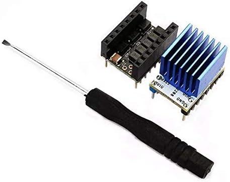 ZJN-JN コンピュータアクセサリー、15個のスーパーサイレントステッピングモータドライバモジュール+ 10PCSのヒートシンク+の5pcs Stepstickスムーズキット3Dプリンター用 工業用モータ