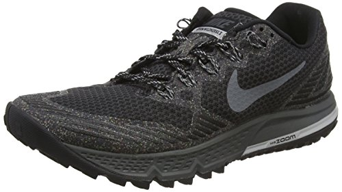 Nike Air Zoom Wildhorse 3, Zapatillas De Running para Hombre Negro (Negro (black/dark grey-wolf grey-cool grey))