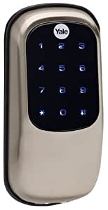 Yale Real Living Key Free Touchscreen Deadbolt with Z-Wave in Satin Nickel (YRD240)