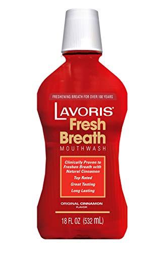 Lavoris Mouthwash Original Cinnamon, 18 oz ()