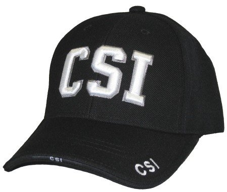 CSI Embroidered Hat]()