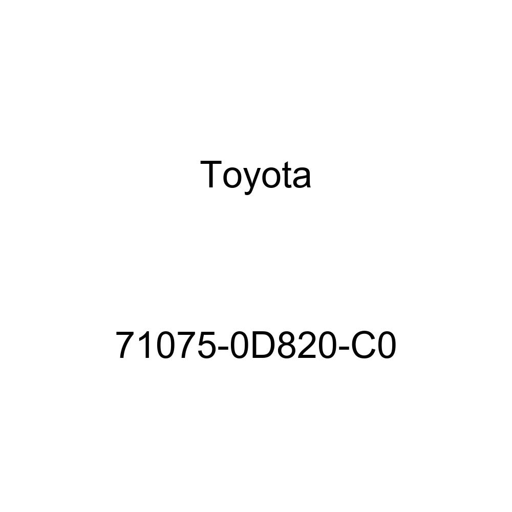 TOYOTA Genuine 71075-0D820-C0 Seat Cushion Cover