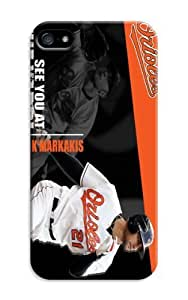 D-PINK(TM) iPhone 4/4S Case Baltimore Orioles MLB Hard Case Cover Skin for iPhone 4/4S