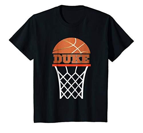 - Kids Basketball Apparel | Custom Name Duke Youth Graphic T Shirt