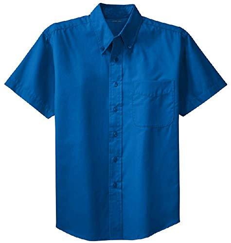 Joe's USA - Mens 2X-Large Tall Short Sleeve Easy Care Shirts