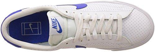 Nike Herren Tennis Classic AC Tennisschuhe, Multicolore-Blanco / Azul (White / Racer Blue-Loyal Blue), 47 EU