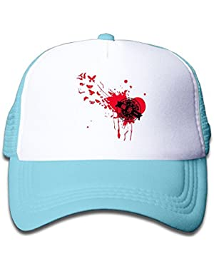 Heart Broke Tie Dye Baby Boys Baseball Cap Cute Hat