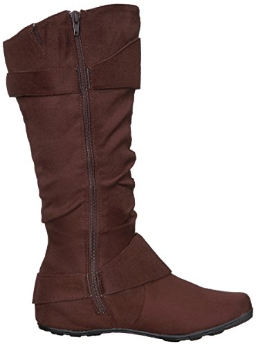 Calf Co Wide Brinley Women's Augusta Boot Slouch Brown 02wc 4d1Ua8nq