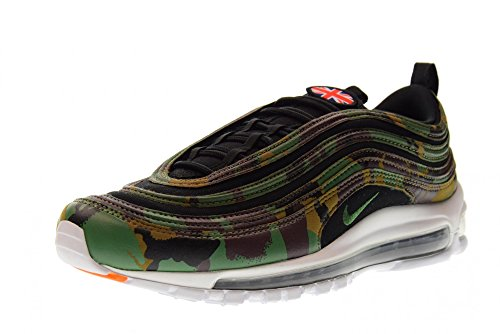 Nike Air Max 97 Premium QS Schuhe Sneaker Neu Unisex Raw Umber Fortress Green Black 201