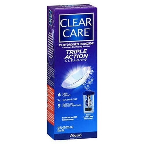 Ciba Clear Care Solution Size 12 Oz Ciba Clear Care Contact Lenses Solution from CLEAR CARE