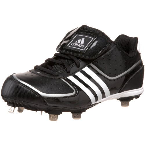 4 W Shoe Running Women's Metallic Softball White Silver Fastpitch adidas Metal Black ExZawqR1
