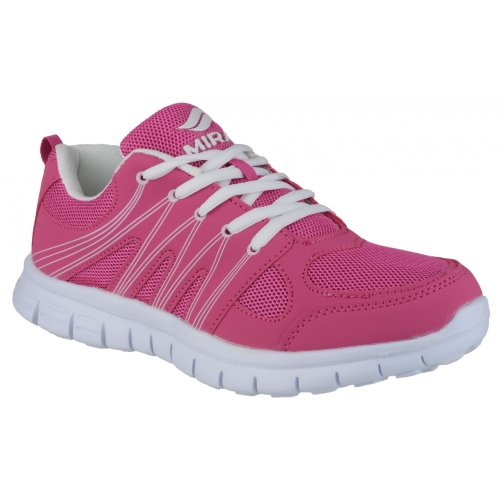 Mirak Milos Ladies Trainer / Womens Trainers Purple/Pink NxGpftAcd