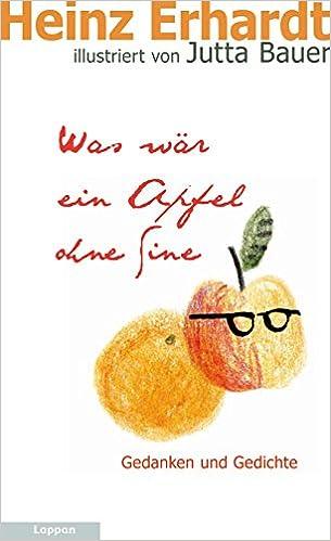 Was Wär Ein Apfel Ohne Sine Amazonde Heinz Erhardt