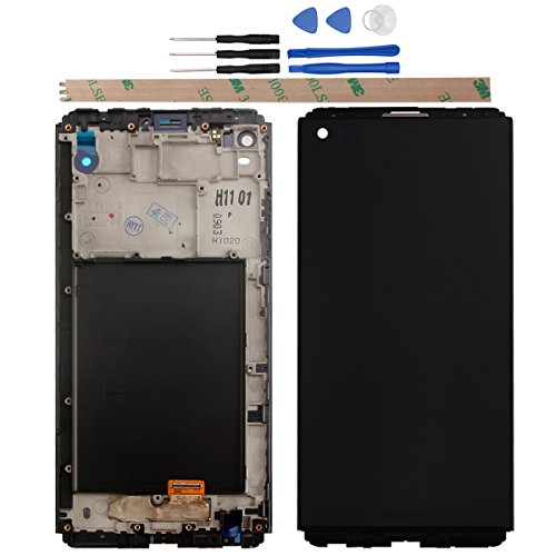 HYYT for LG V20 H990 F800L H910 H915 LS997 Digitizer Replacement LCD Display and Touch Screen Digitizer Glass Replacement with Clapboard - Replacement Lcd Lg Screen